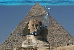 Those Damn Scuba Diving PyramidBuilders